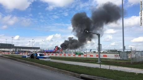 plane fire fort lauderdale runway obrien sot nr_00002310