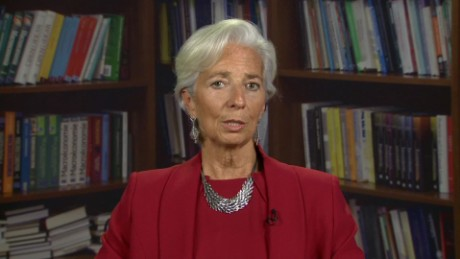 "Lagarde: I asked for same pay as male predecessor ""or more"""