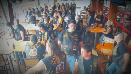 Waco biker shootout caught on camera