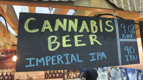This high-ABV, high-IBU Imperial IPA contains CBD, but won't get you high.