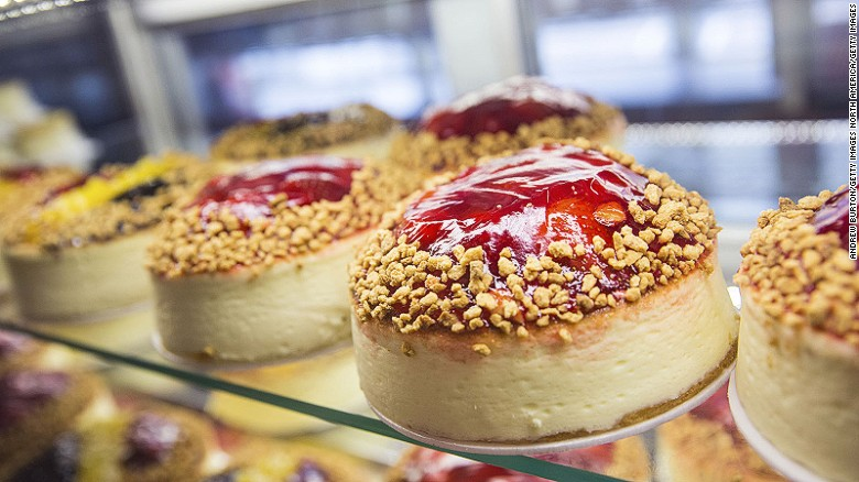 Cheesecake. Image: CNN
