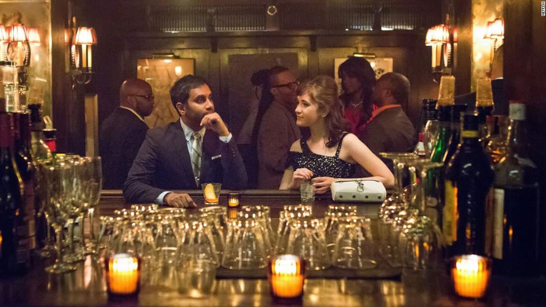 """Master of None"" co-creator and star Aziz Ansari was nominated for best actor in a television series - musical or comedy. Other nominees are Rob Lowe (""The Grinder""), Gael García Bernal (""Mozart in the Jungle""), Patrick Stewart (""Blunt Talk"") and Jeffrey Tambor (""Transparent"")."