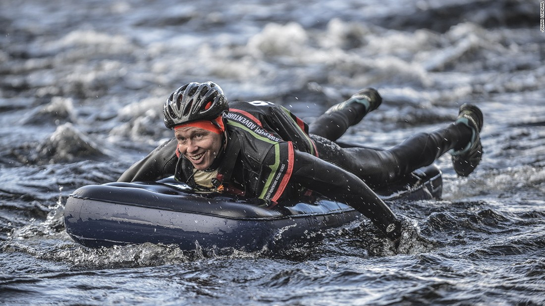 Held in July, this race tests teams of four on the water, on foot, and on bike. There are other challenges along the way too.