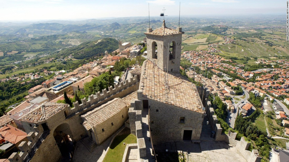 Like many of the other long-lived countries, San Marino's strong economy and infrastructure are thought to be the reason for its long-lived residents.