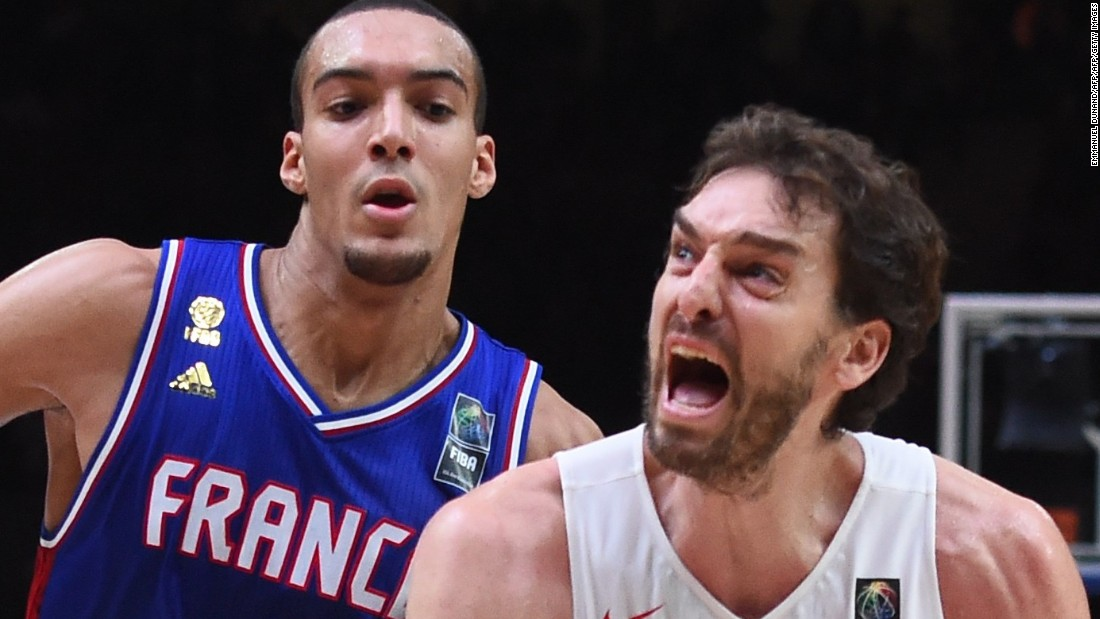 This year, with six players affiliated with NBA teams, it finished third, losing to eventual champion Spain in overtime in the semifinals. Spain's NBA standout Pau Gasol, right, was named tournament MVP.