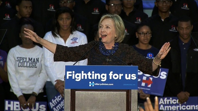 Black Lives Matter protesters disrupt Hillary Clinton rally