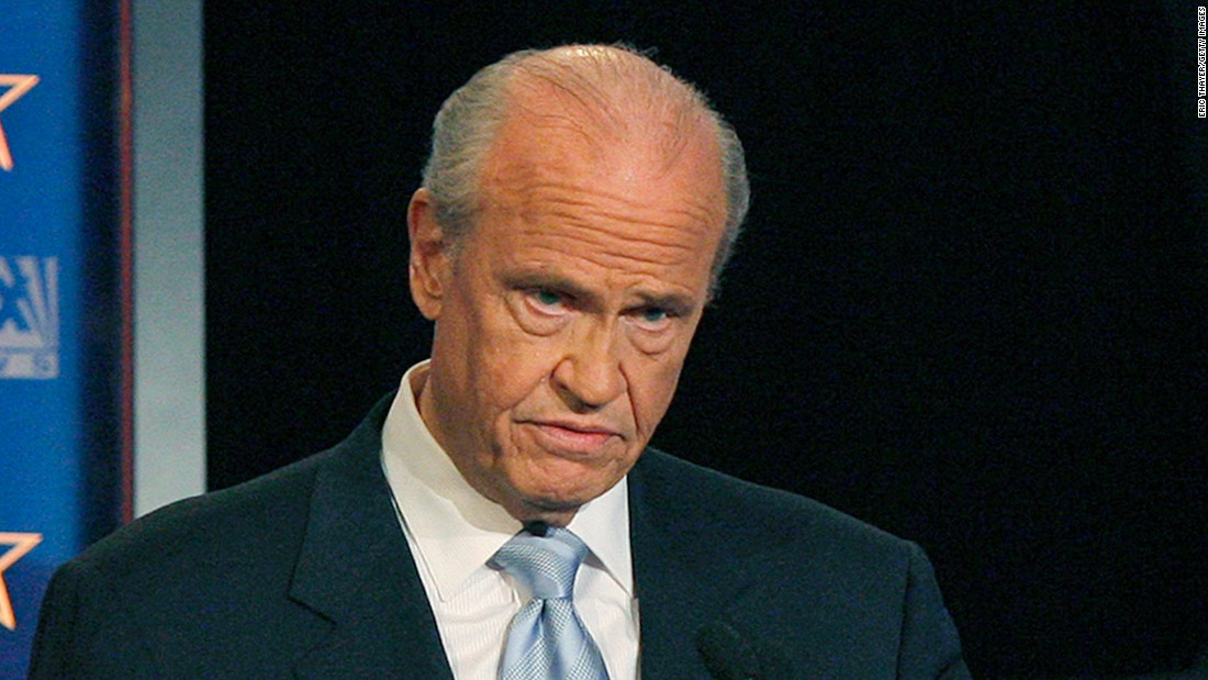 story news politics former fred thompson dies