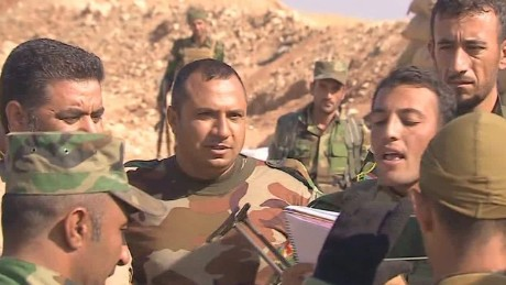 Yazidis join fight to drive ISIS out of Iraq