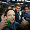 rugby fans thumbs up