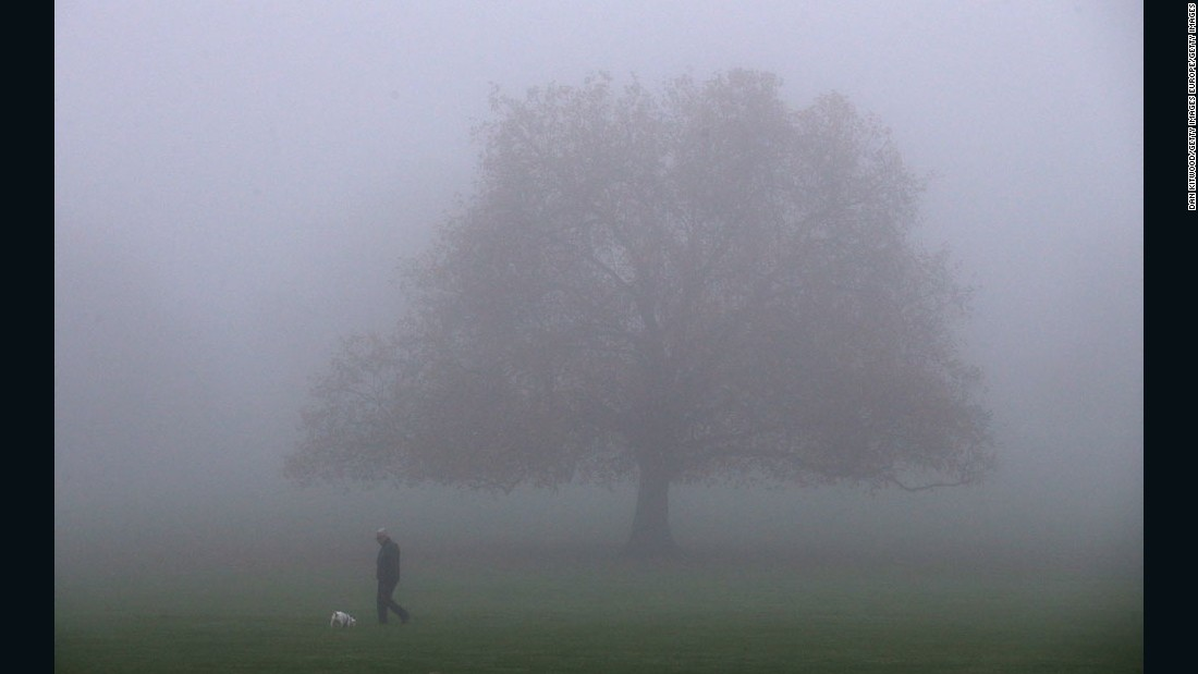 foggy vision: 14 photos of europe shrouded in mist | cnn travel, Skeleton