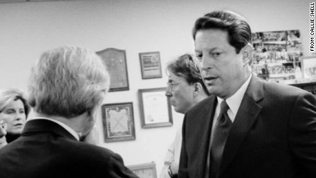 2000: What stopped Gore from going on stage