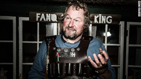 Jesper Voss is the self-anointed Fanoe Oyster King.