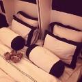 ben schlappig instagram double bed