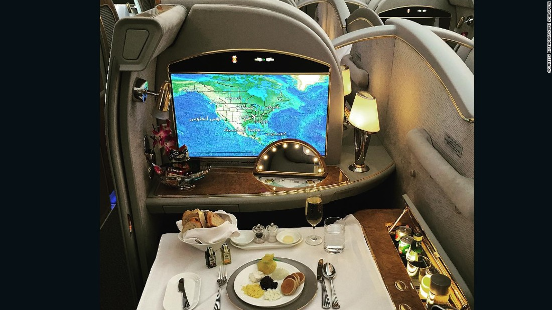 """""""That everybody up there is a billionaire, and that everybody up there is paying $20,000 for a ticket -- it couldn't be further from the truth,"""" said Schlappig.<br /><br />""""The majority of people are upgraded, or they might even be staff. You don't have to be rich to fly first class."""""""