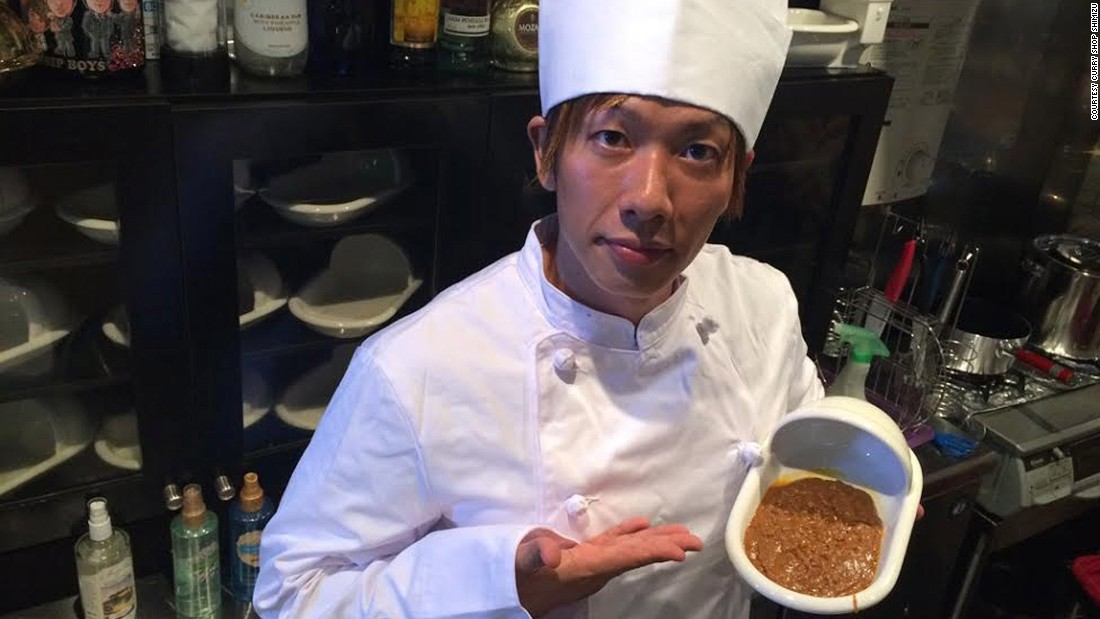 Ken Shimizu (pictured) has opened what could be the world's grossest restaurant. Curry Shop Shimizu specializes in dishes that mimic the texture and flavor of feces. In addition to running an eatery house, Shimizu, or more commonly known as Shimiken, is also one of Japan's best known porn stars.