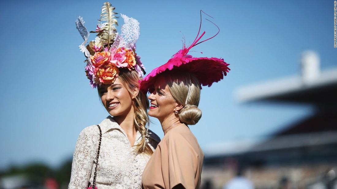 "The Melbourne Cup is known as the ""race that stops a nation"" such is the interest in the event. It's not just the cup that stops Australia -- it's high stakes in the fashion world too.<br />"