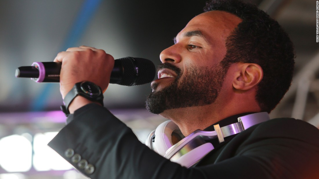 Singer Craig David was also on hand to entertain the Flemington masses.