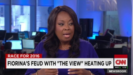 "Star Jones talks Fiorina's feud with ""The View""_00023627"
