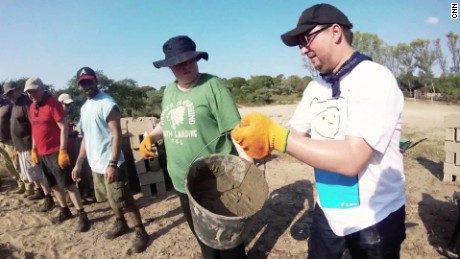 Turner, HBO employees help to build Mozambique library