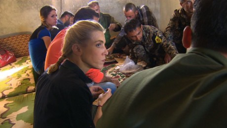 Behind the scenes of CNN's journey into Syria