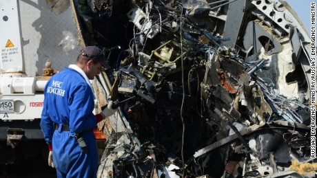 Egypt on jet crash: Don't jump to conclusions