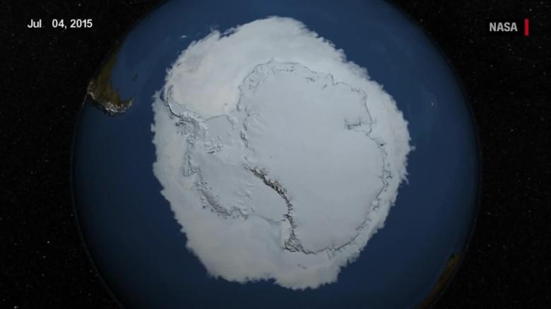 Antarctica is gaining ice, NASA study says - CNN