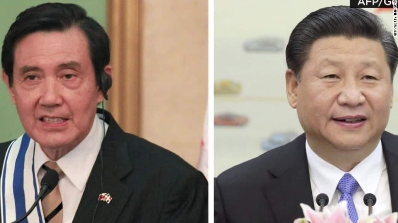 Presidents of Taiwan and China to meet