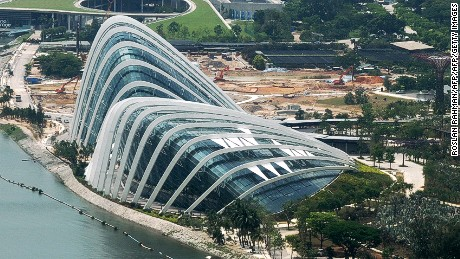 2012 WAF World Building of the Year winner: Cooled Conservatories at Gardens by the Bay