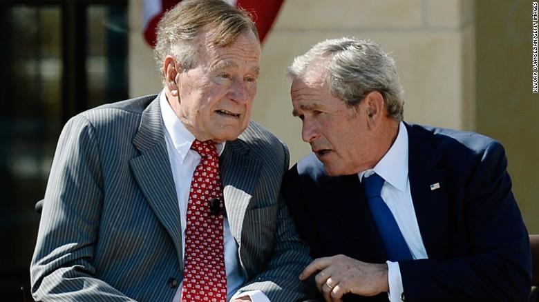 Bush 41 blasts Cheney, Rumsfeld in new biography