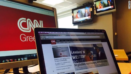 The new service provides digital news in Greek at CNN.gr.