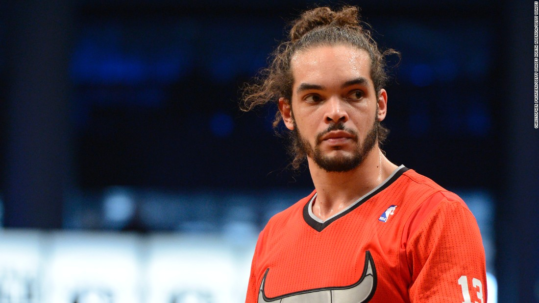 Joakim Noah is a dual U.S. and French citizen, and has represented France in international competition. The Chicago Bulls center checked on his father, former tennis pro Yannick Noah, after the Paris attacks in November.