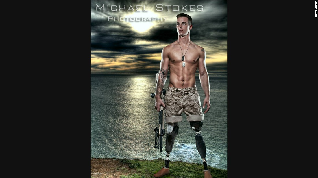 "Chris Van Etten, a U.S. Marine, sustained multiple injuries when he stepped on an improvised explosive device in Afghanistan.<br /><br />""I still have demons; we all do,"" he said. ""But I refuse to let them control who I am."""