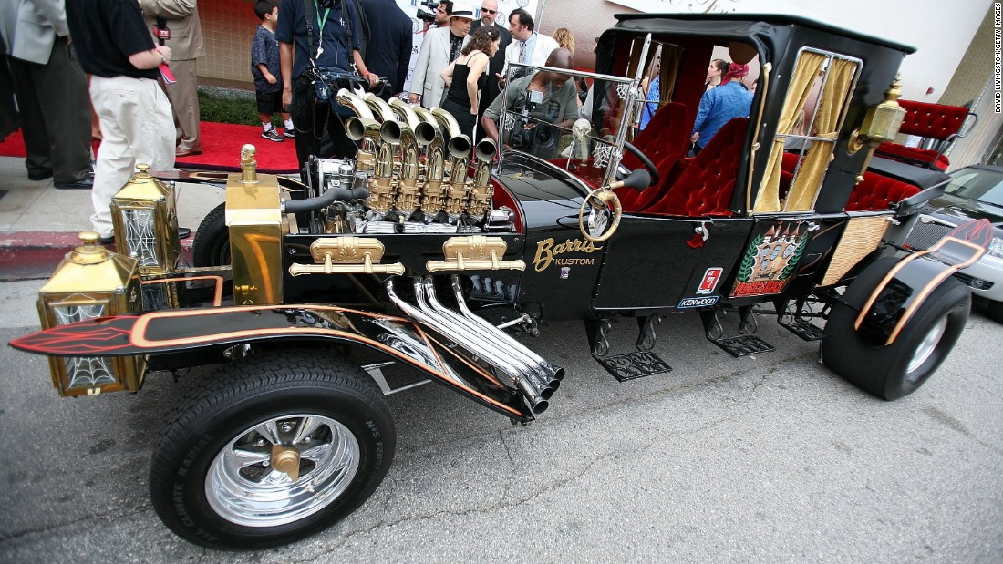 """The Munster Koach was constructed from three Model T's, according to Barris. The car was used on the TV show """"The Munsters."""""""
