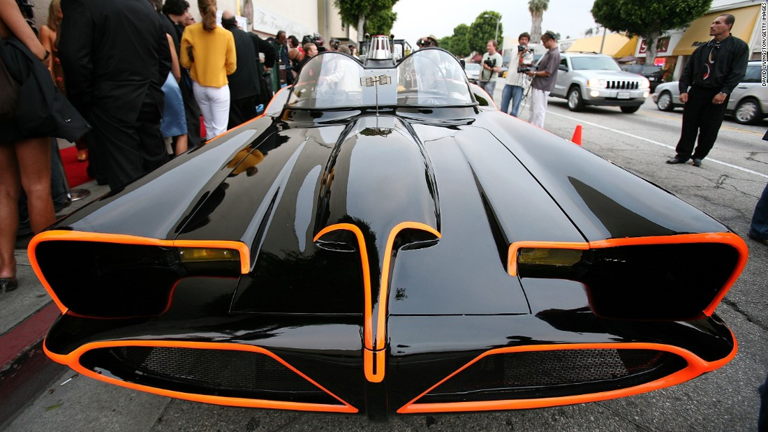 """George Barris, the """"King of the Kustomizers,"""" was renowned for his work on cars that became well-known on TV. Perhaps the most distinctive was the Batmobile created for the '60s TV series """"Batman."""" It was a reworked version of a 1955 Lincoln concept car."""