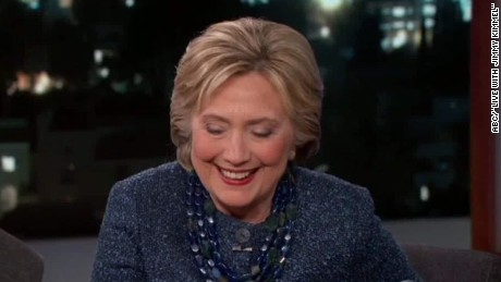 Hillary Clinton Jeb Bush Jimmy Kimmel es_00002428