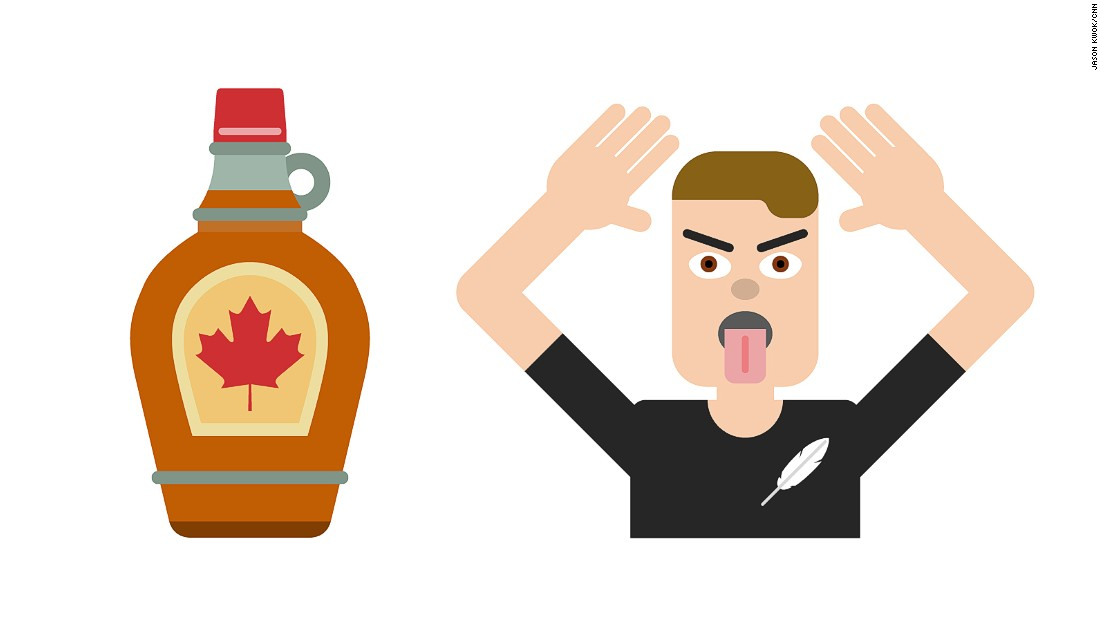 Finland's emojis got us thinking about other countries. We came up with these depicting Canada with delicious maple syrup and New Zealand with a player from its world-beating All Blacks rugby team performing a fearsome haka dance.