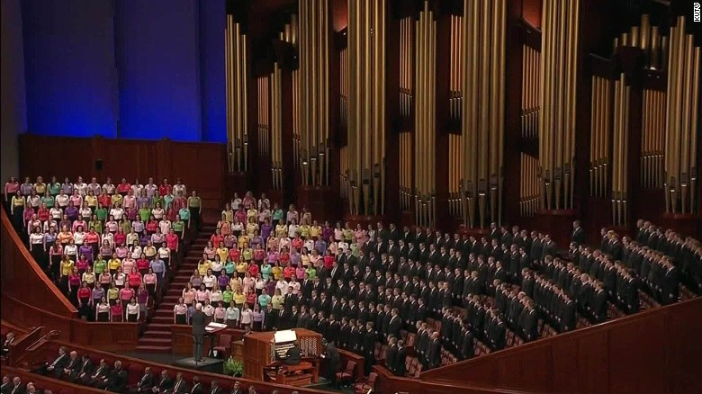 Mormon church: Kids of same-sex marriage get no blessing