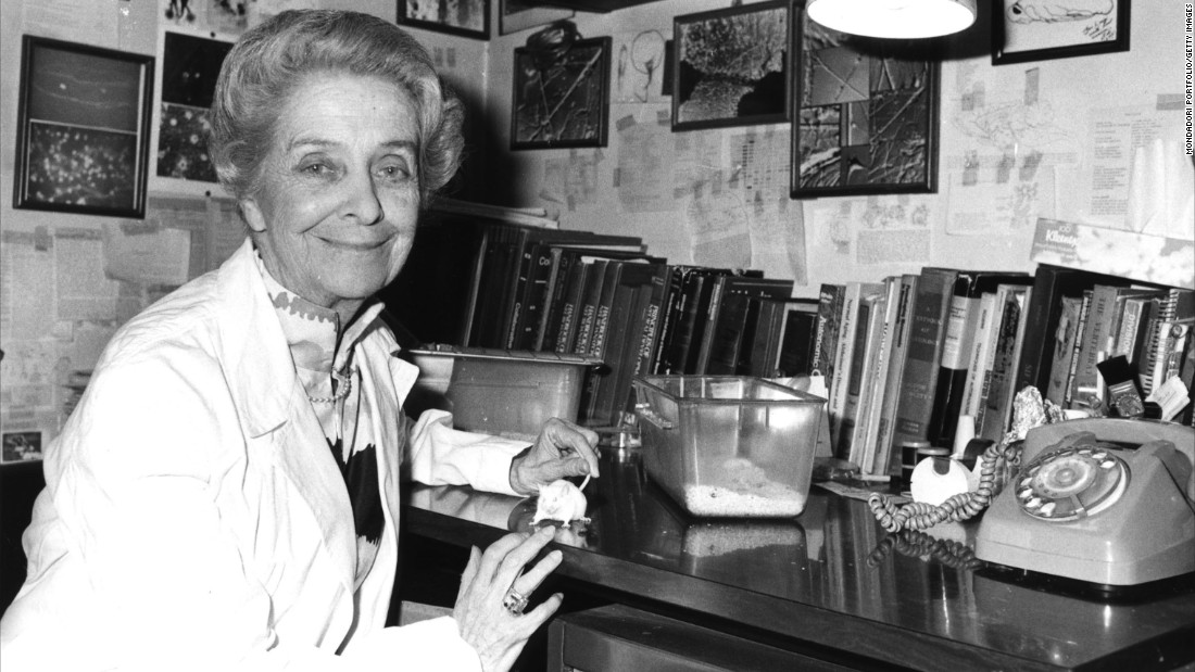 Levi-Montalcini constructed a clandestine basement research laboratory in Italy during World War II for nerve cell research using chicken embryos. She and her collaborator, Stanley Cohen, were awarded the Nobel Prize in Physiology or Medicine in 1986.
