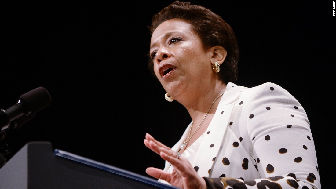 "Loretta Lynch was sworn in as the U.S. attorney general on April 27. The nomination of Lynch, the country's first African-American woman to serve in the role, was<a href=""http://www.cnn.com/2015/03/19/politics/loretta-lynch-nomination-racism-democrats/"" target=""_blank""> held up more than five months </a>over politicking in the Senate. Democrats claimed the voting delay was racially motivated, despite GOP protestations otherwise."