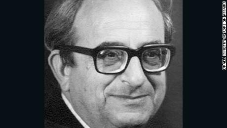 Former Israeli President Yitzhak Navon 1921 - 2015.