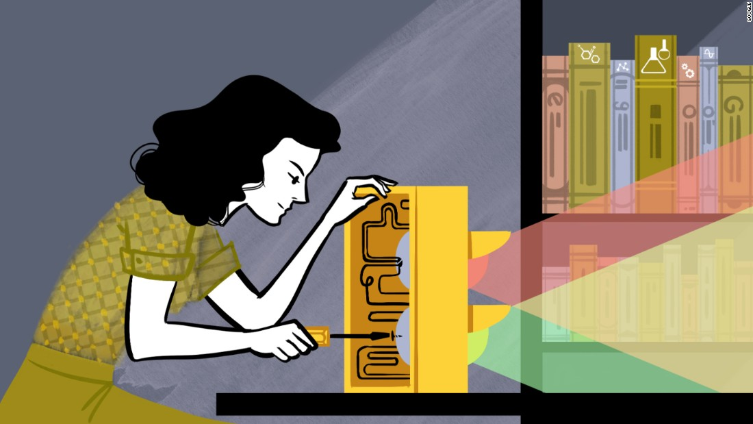 The animated Doodle in the United States on Monday, November 9, celebrated the dual life of the late actress Hedy Lamarr, who also became an acclaimed inventor.