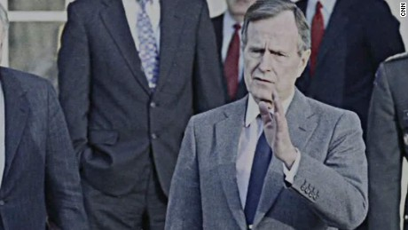 george h.w. bush biography health gangel newday_00004625.jpg