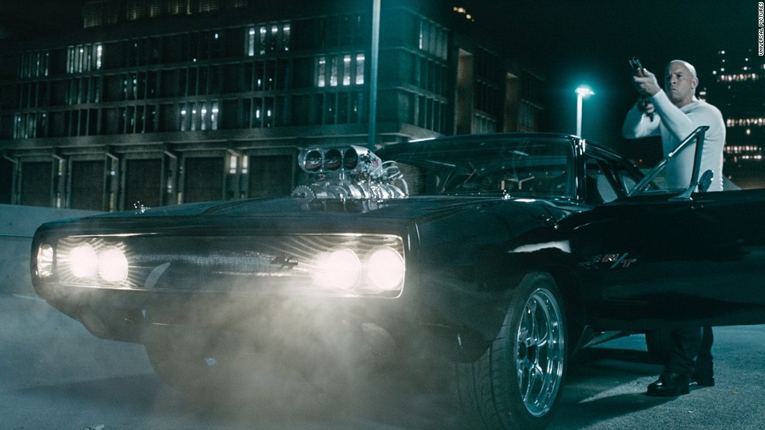 "The signature car of Dominic Toretto, played by Vin Diesel, is the 1970 Dodge Charger. Above is a scene from the seventh installment of the series. The car tself is a key component of the first ever ""The Fast & The Furious"" movie as Toretto's character was initially apprehensive about driving it."