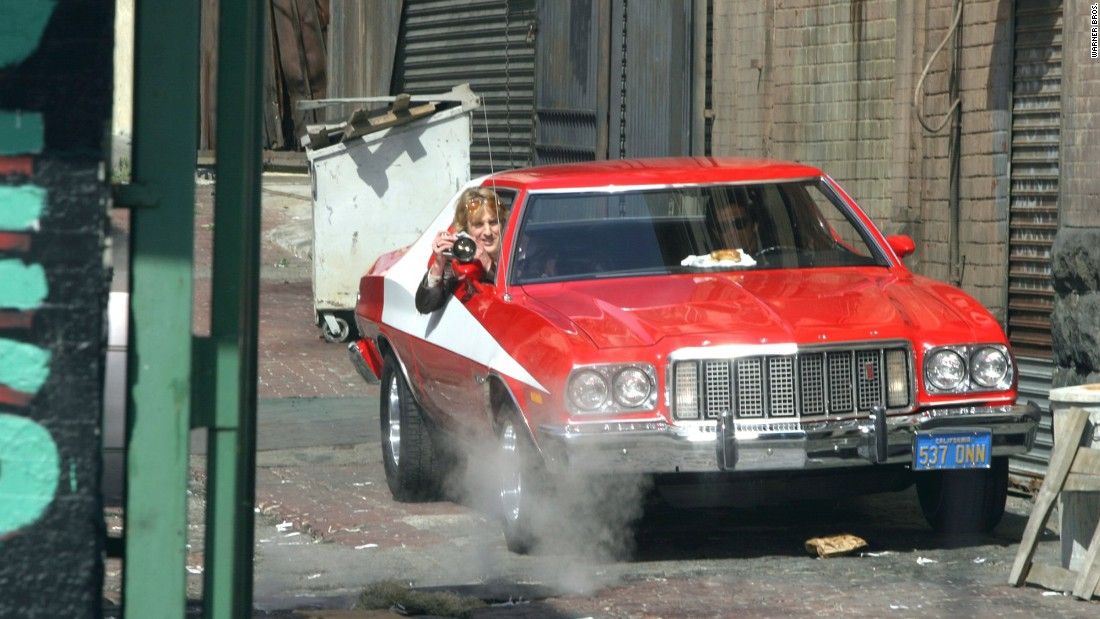 "This iconic Ford Grand Turino was used throughout the ""Starsky & Hutch"" series. It was first seen in the television series in the 1970's and was revived in 2004 for the comedy."