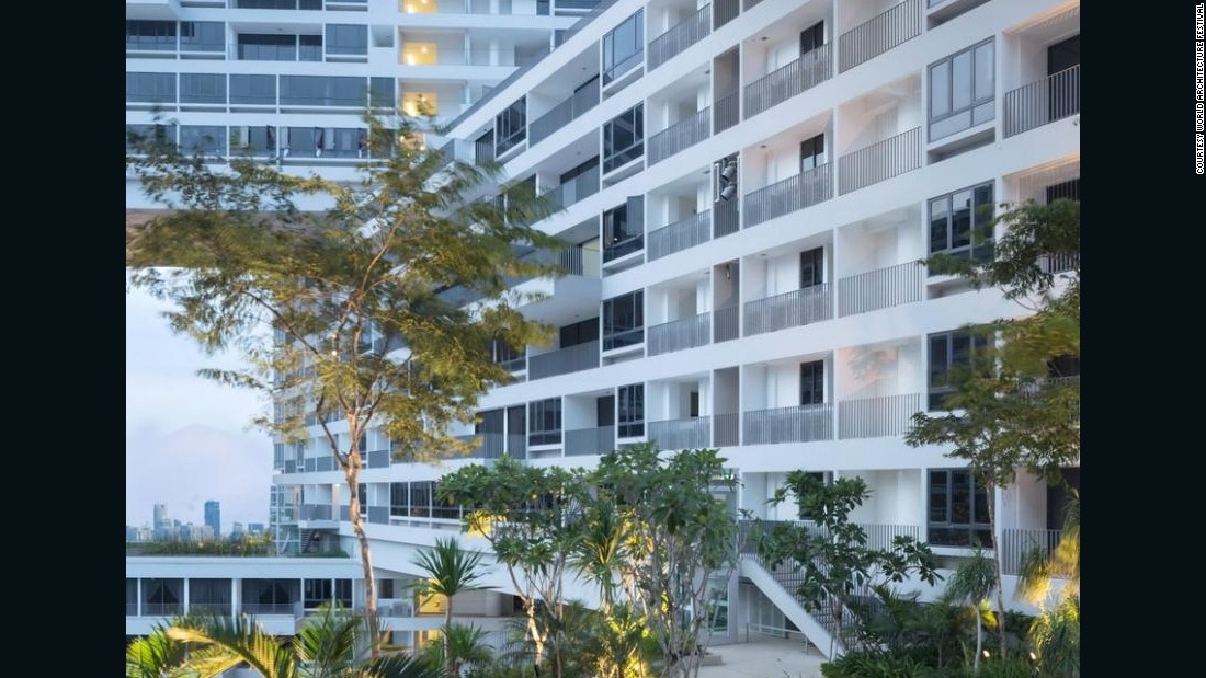 The Interlace is the eighth project to claim the illustrious title of World Building of the Year since the competition's inception in 2008. The festival has been held in Singapore for the past four years and will move to Berlin in 2016.