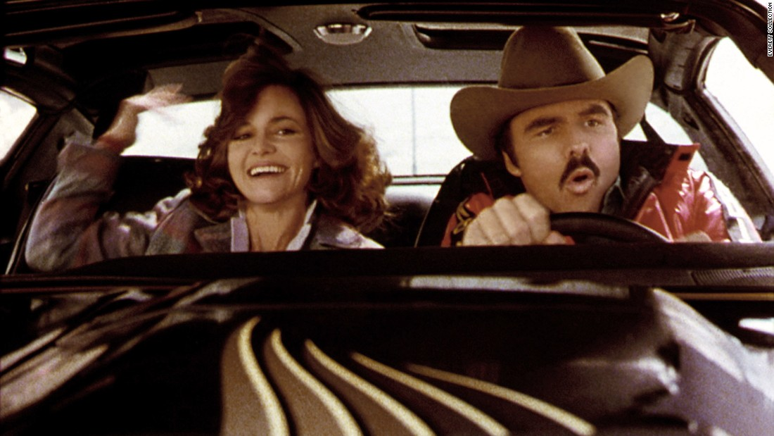"The car of choice in the 1977 film, ""Smokey and the Bandit,"" was a Pontiac Trans Am. The original car from the movie has <a href=""http://money.cnn.com/video/news/2014/12/16/burt-reynolds-smokey-and-the-bandit-pontiac-trans-am-auction.cnnmoney/"">previously sold </a>for $450,000."