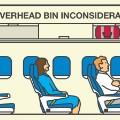 annoying-passengers overhead bin inconsiderate