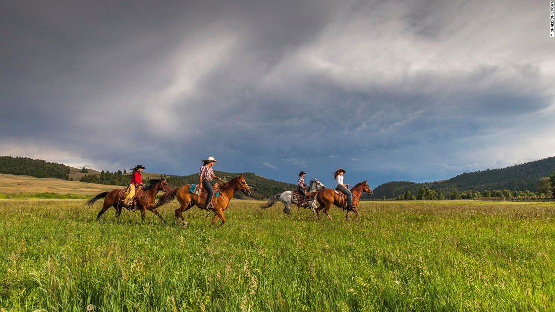 Montana is a popular destination for riders looking to experience the cowboy life.