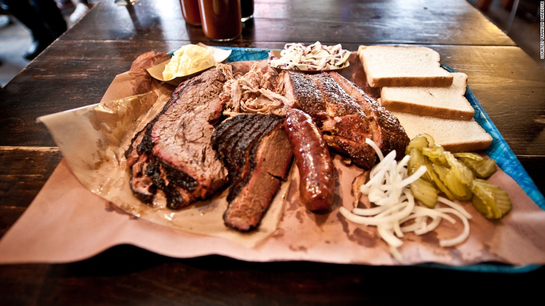 There's time for barbecue for fans heading to Austin, Texas, to see Texas Tech's Red Raiders take on the Longhorns. Franklin Barbecue in Austin is consistently rated among the state's best barbecue joints.