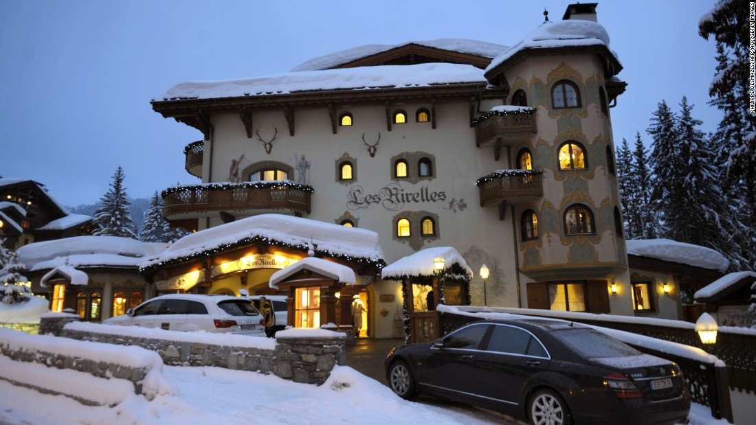 "<a href=""http://www.airelles.fr/"" target=""_blank"">Les Airelles</a> hotel in Courchevel, France, is home to Pierre Gagnaire restaurant, which has two Michelin stars."